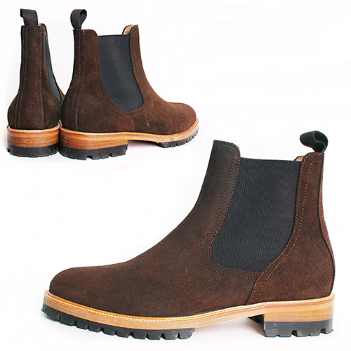Handmade Leather Chelsea Dealer Boots 5379