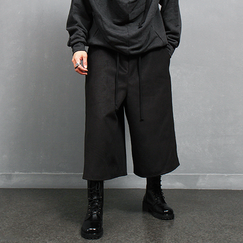 Long Wide Skirt 4/5 Strap Winter Pants