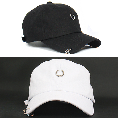 Hip Hop Hard Core Piercing Baseball Cap