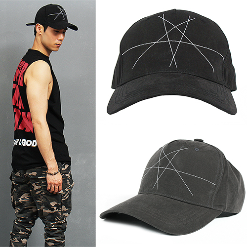 Hip Hop Star Stitch Baseball Cap