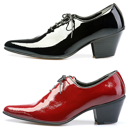 Handmade Oxford High Heel Leather Shoes - 4708