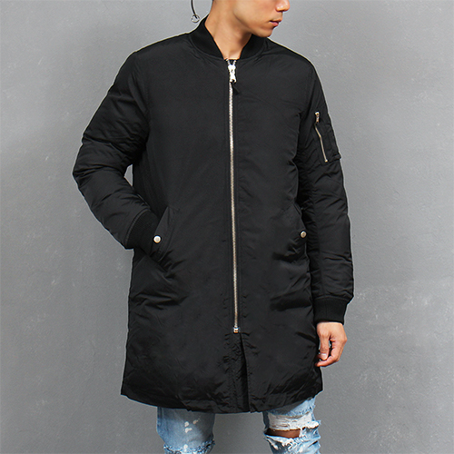 Avant garde Bomber Long Parka Jacket Coat