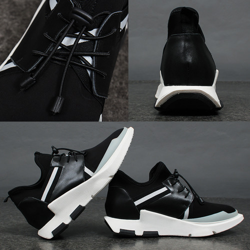Neoprene Tassel Lace Runner Sneakers A053