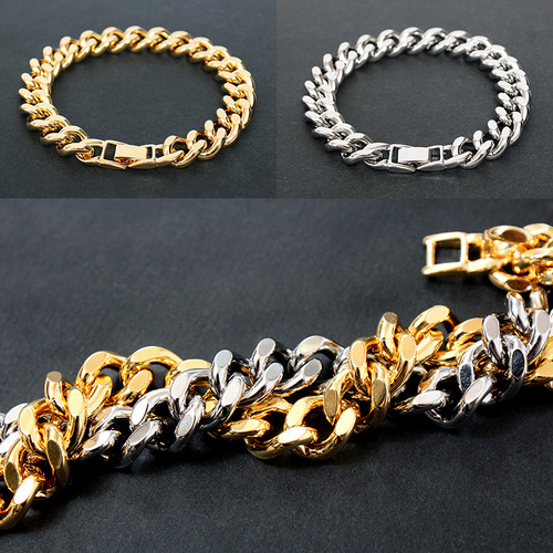 Gold Silver Plating Chain Bracelet B209