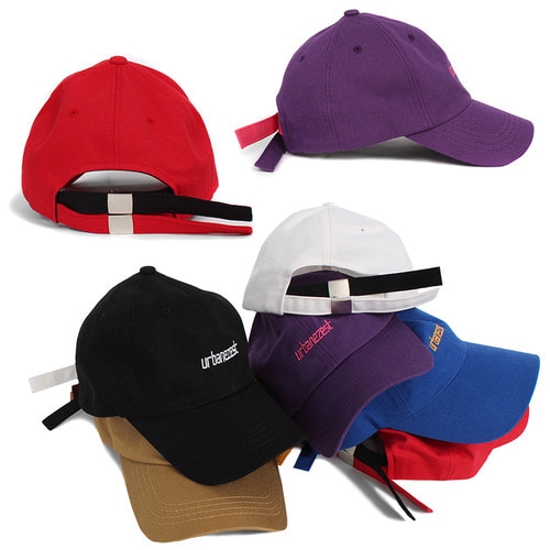 Double Strap Control Color Ball Cap