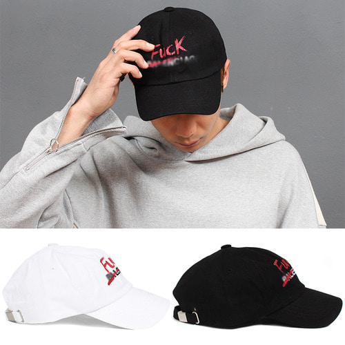 Handwriting Logo Printing Ball Cap