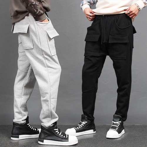 Giant Big Flap Cargo Pocket Baggy Jogger Pants