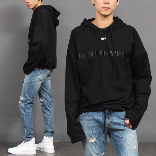 Hooded Tee, men's tee