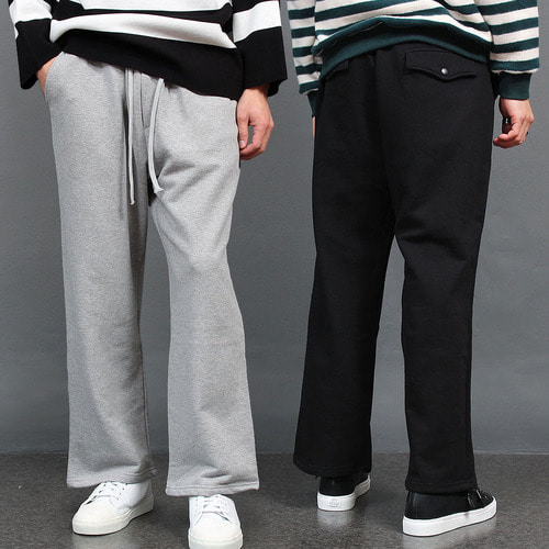 Loose Fit Oversized Wide Sweatpants 013