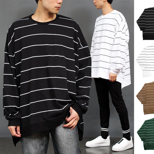 Big Oversized Loose Fit Boxy Sweatshirt 006