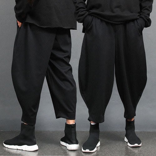 Loose Fit Over Wide Slacks Baggy Pants 003