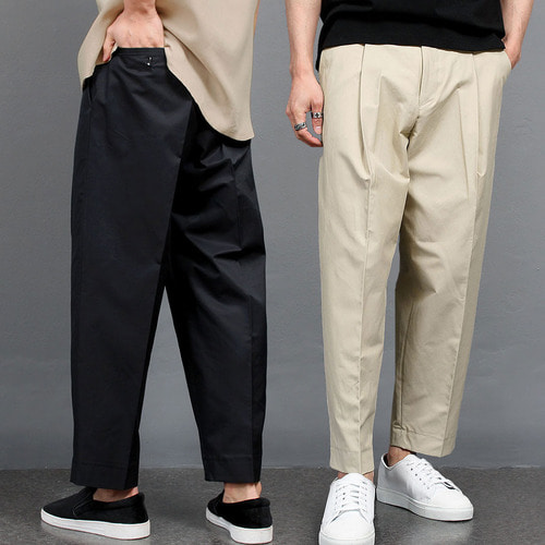 Low Crotch Wide Baggy Slacks Pants 011