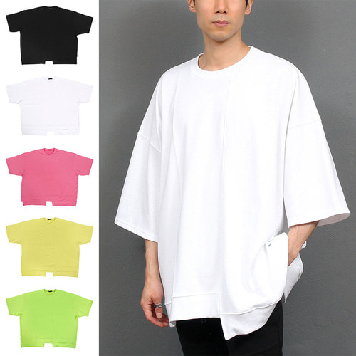 Big Oversized Loose Fit Short Sleeve Tee 033