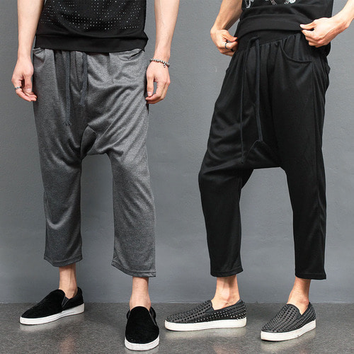 Avant garde Drop Crotch Harem Baggy Sweatpants 052