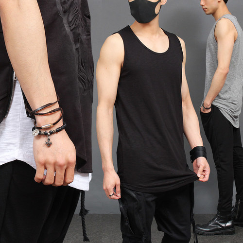 Street Fashion Layered Styling Sleeveless Tank