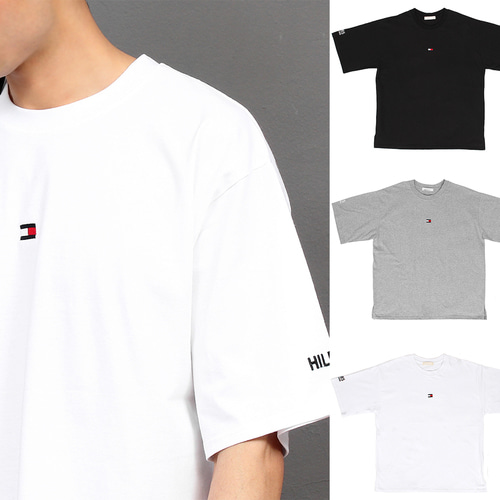 Street Fashion Logo Stitched Short Sleeve Tee 200