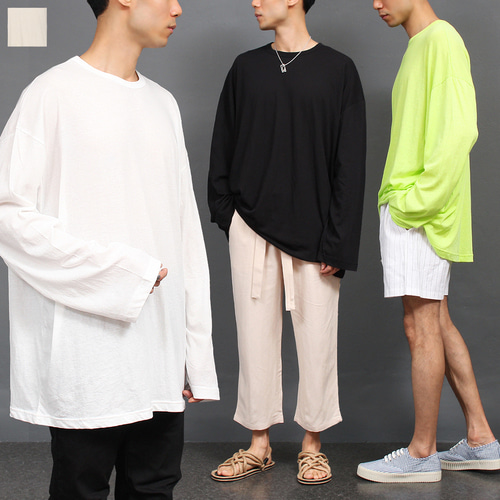 Big Oversized Loose Fit Boxy Long Tee