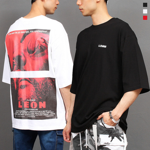 Leon Poster Printing Boxy Short Sleeve Tee 279
