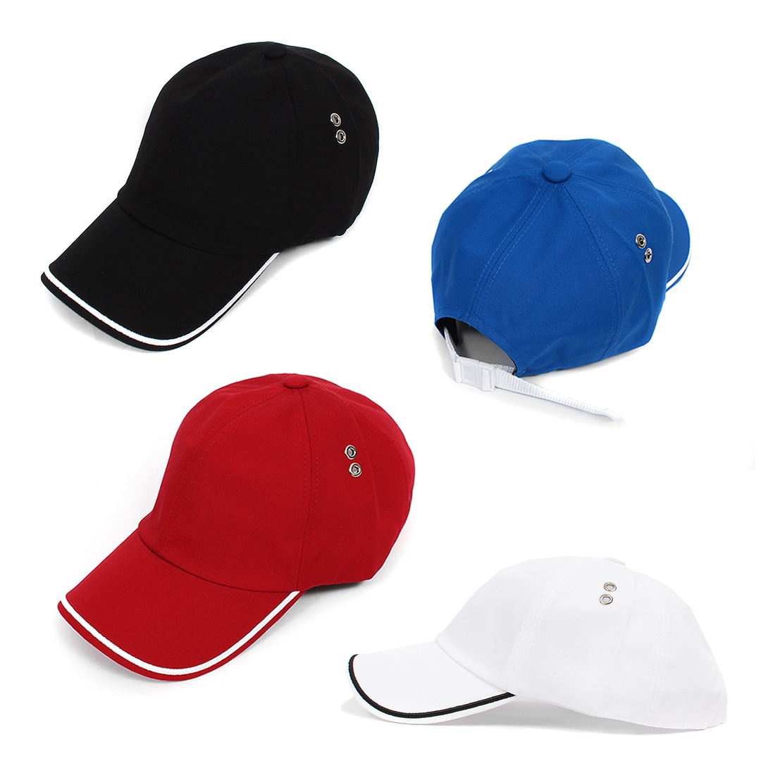 Line Stitch Buckle Strap Baseball Cap 016