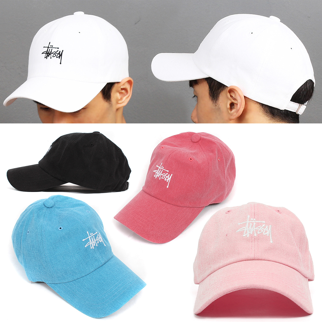 Stitched Logo Color Baseball Cap 020