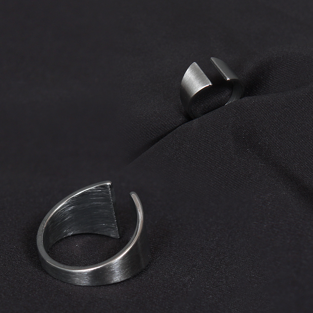 C Shaped Gate Surgical Stainless Steel Ring R53