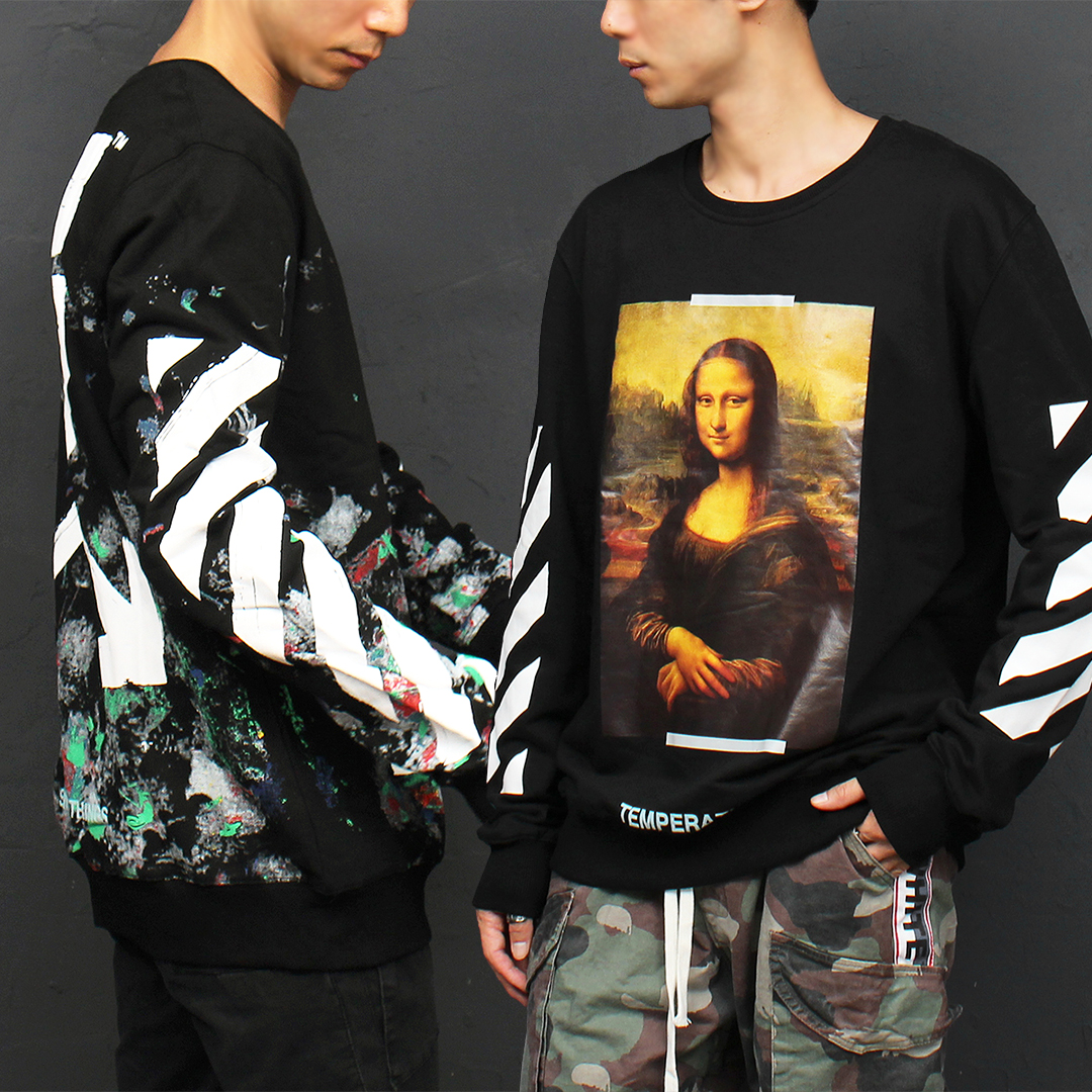Street Fashion Painting Logo Boxy Sweatshirt 040