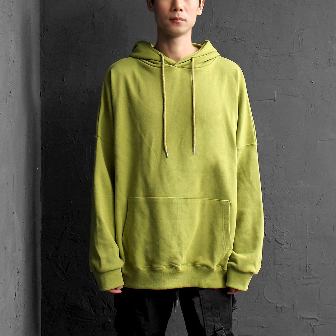 Big Oversized Loose Fit Kangaroo Pocket Hoodie 094