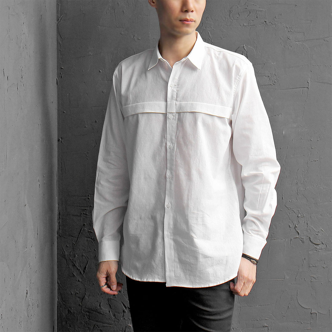 Summer Cool Line Linen Shirt 371