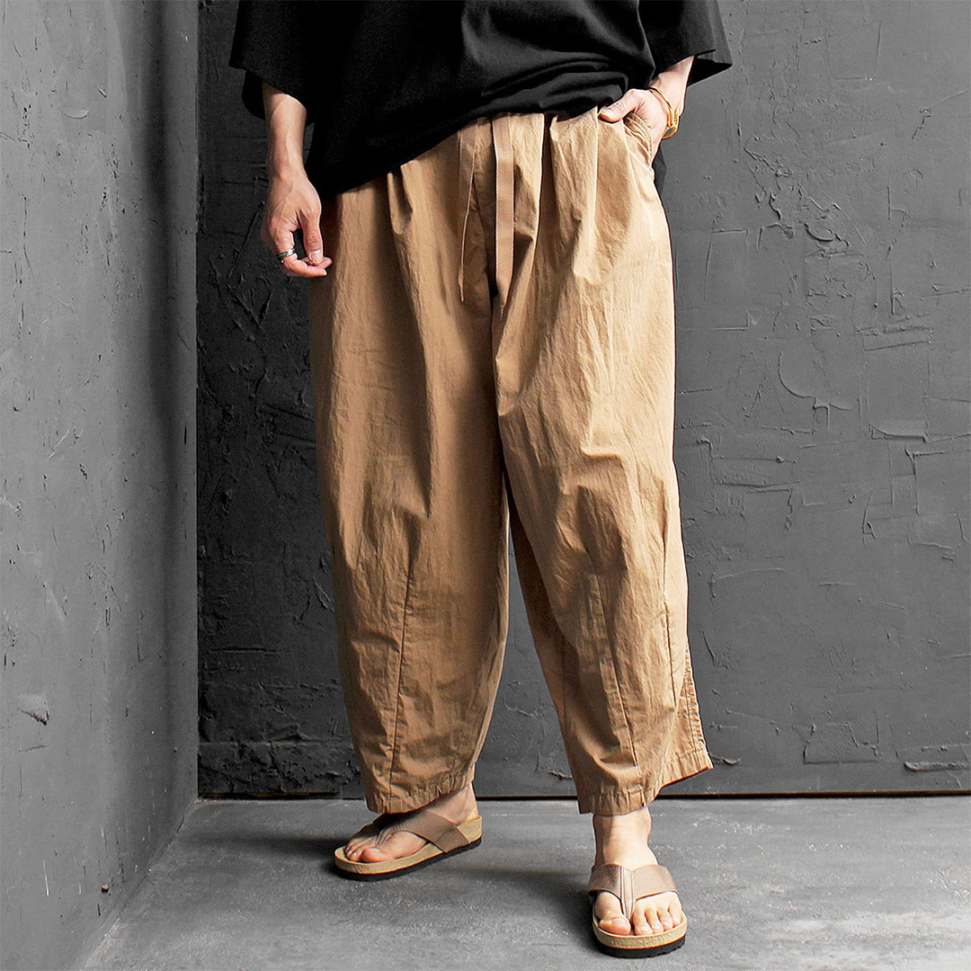 Oversized Wide Pleated Balloon Pants 435