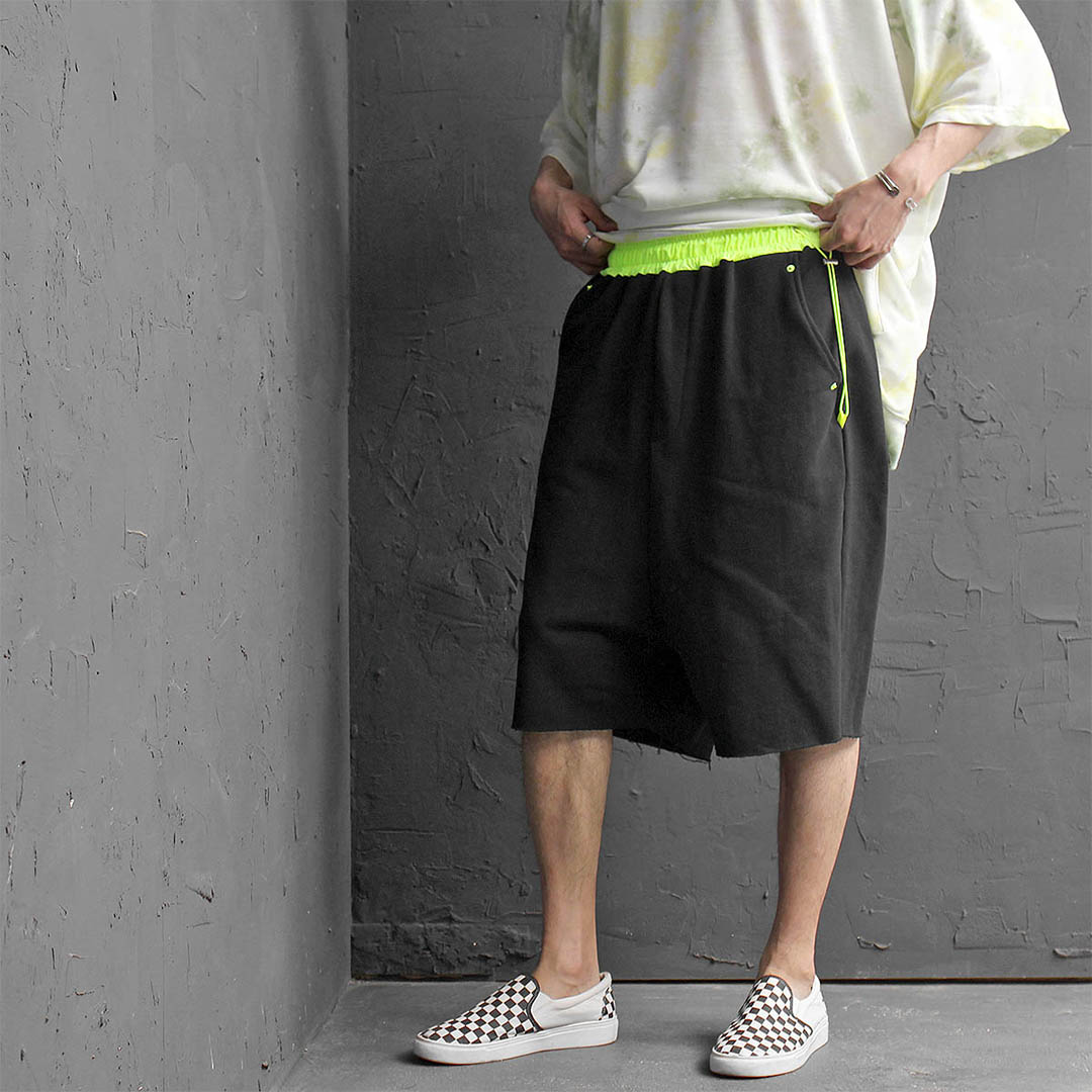 Oversized Loose Fit Drop Crotch Baggy Shorts 453