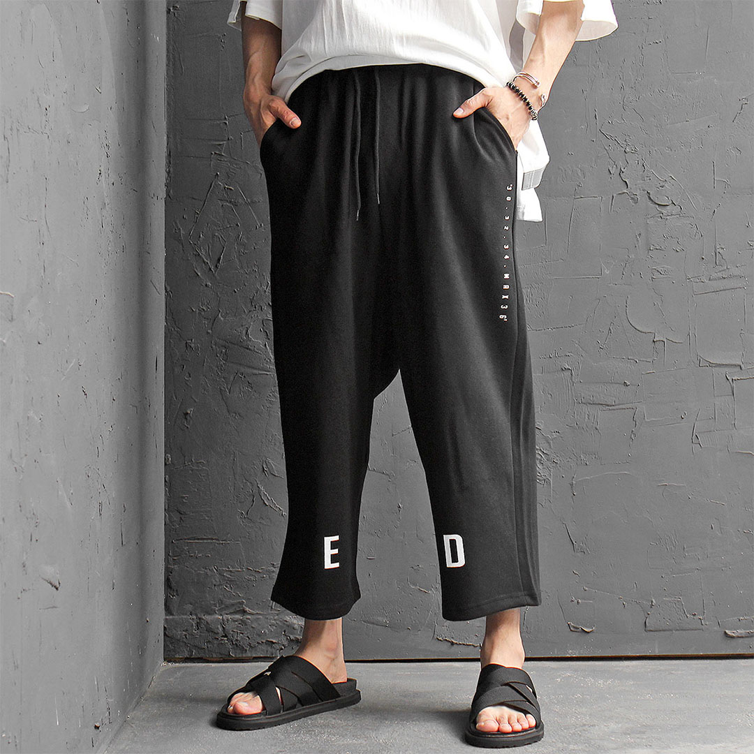 Wide Loose Fit Drop Crotch Baggy Sweatpants 472