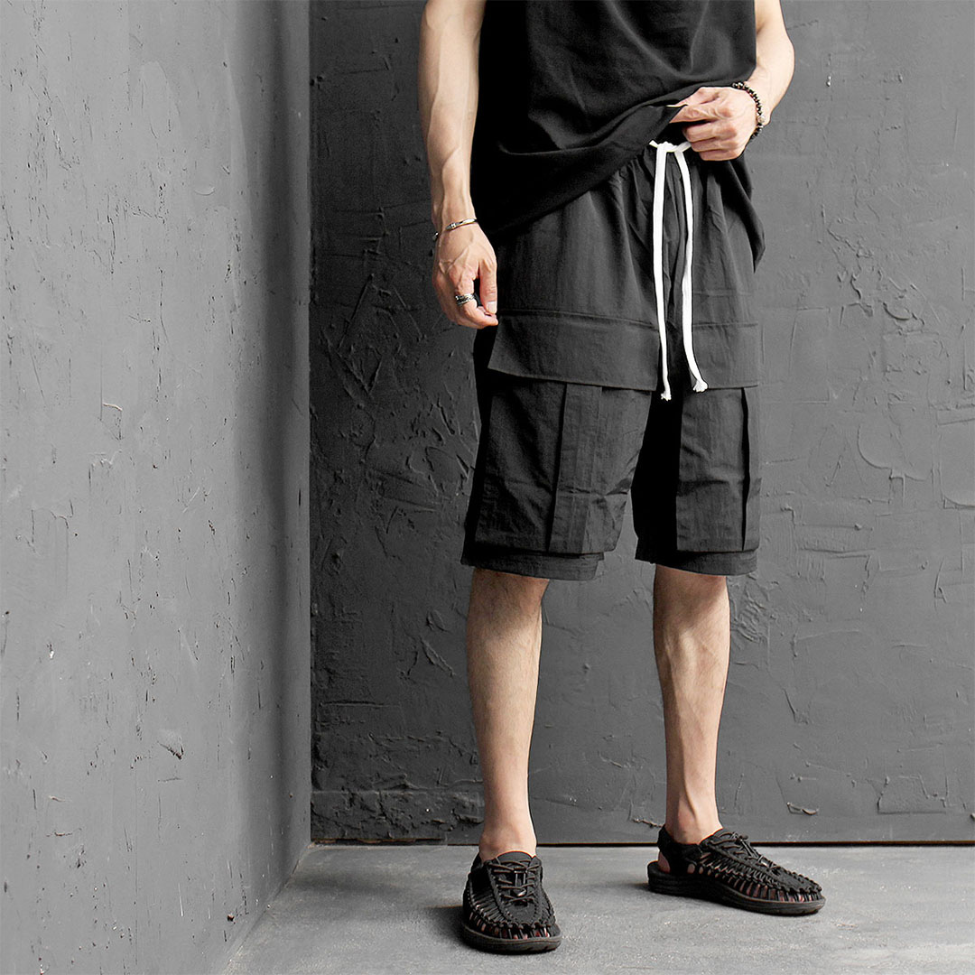 Big Cargo Pocket Short Sweatpants 488