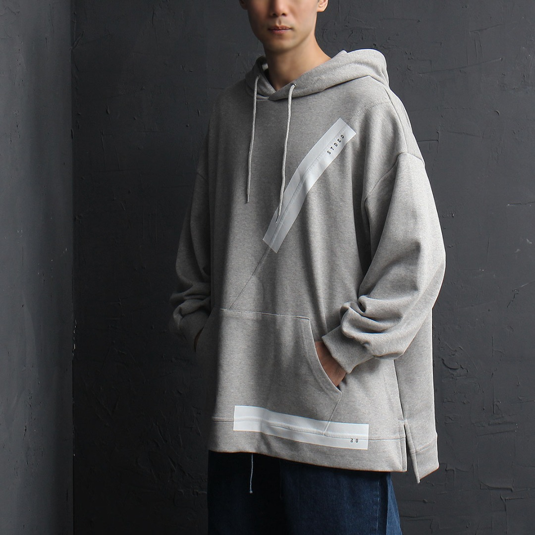Oversized Fit Split Side Hoodie 823