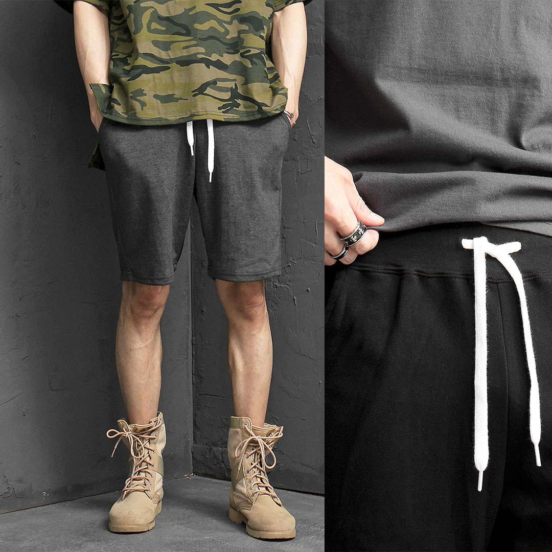 Basic Gym Wear Short Sweatpants 1004