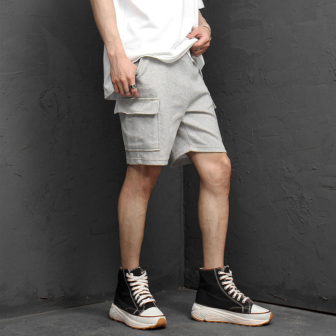 Cargo Pocket Short Sweatpants 1068