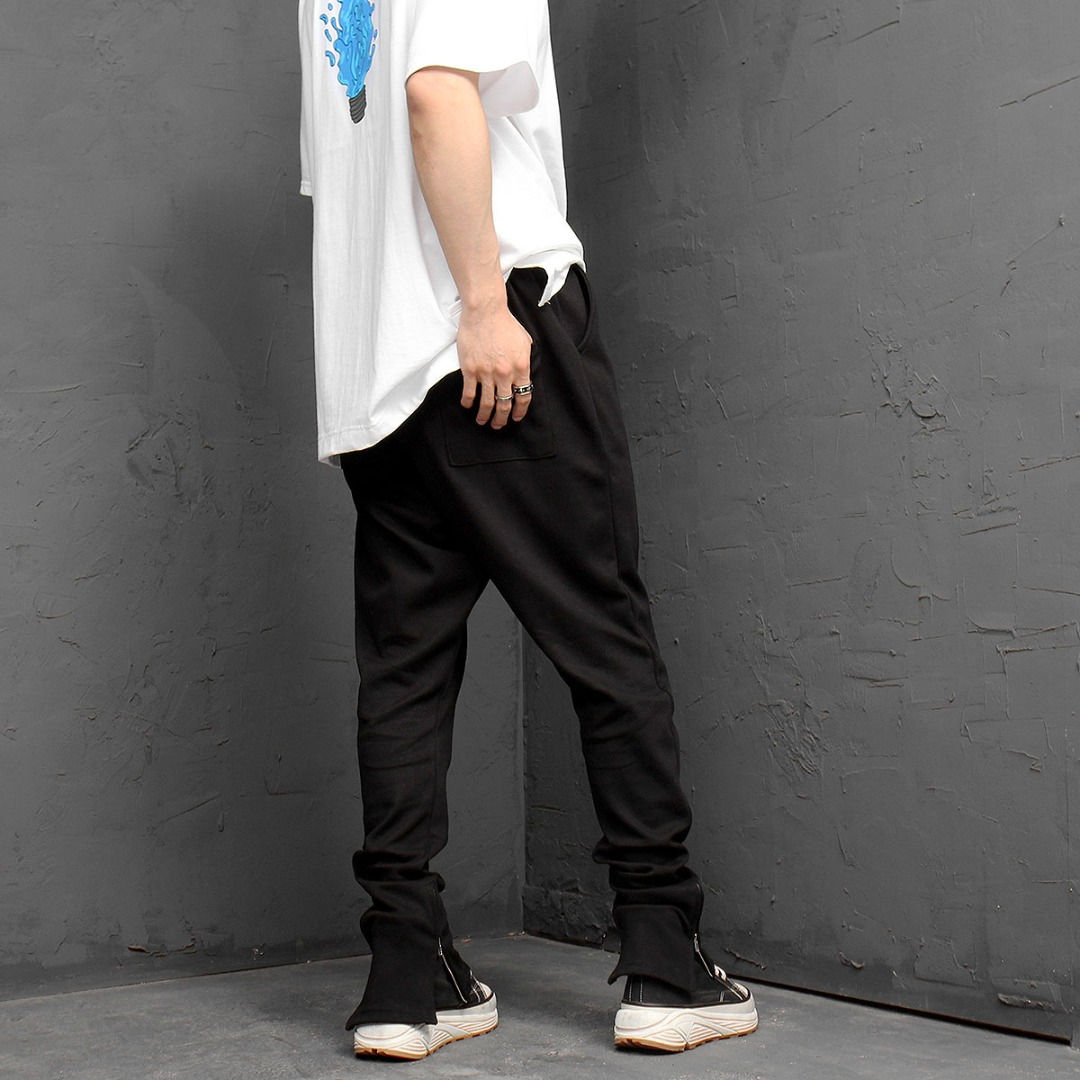 Oversized Long Leg Baggy Sweatpants 1065