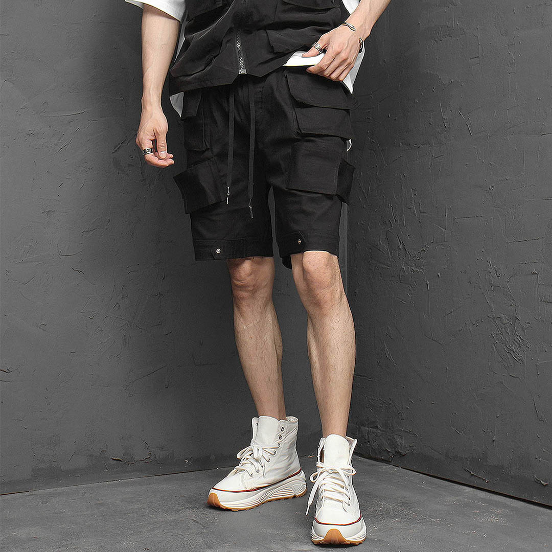 Unique Multi Cargo Pocket Shorts 1137