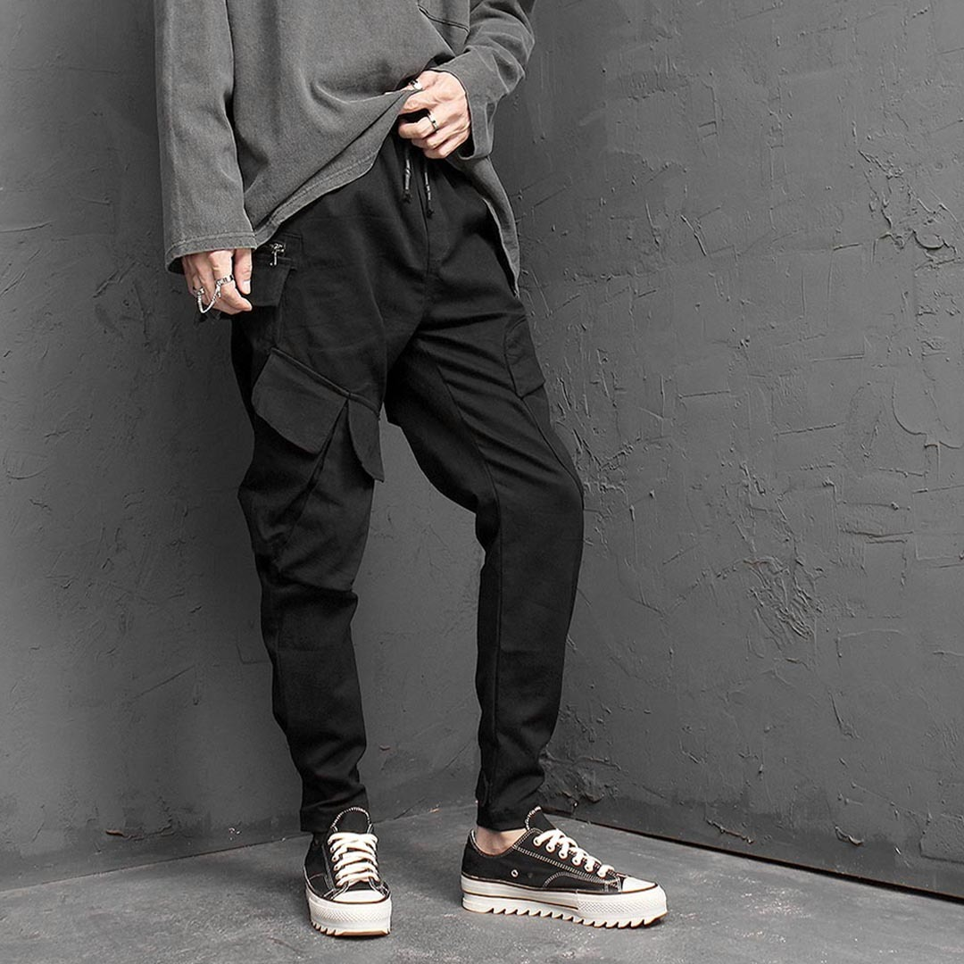 Unique Cargo Pocket Jogger Pants 1403