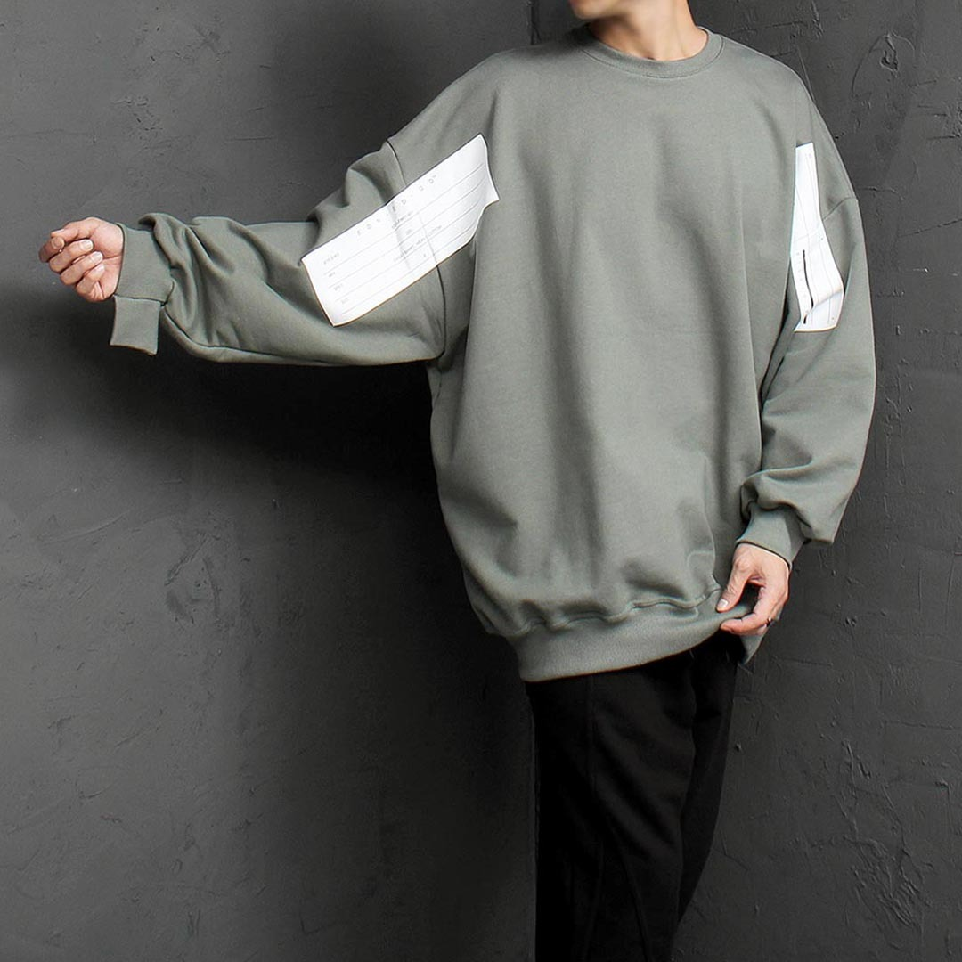 Logo Printing Oversized Fit Sweatshirt 1519