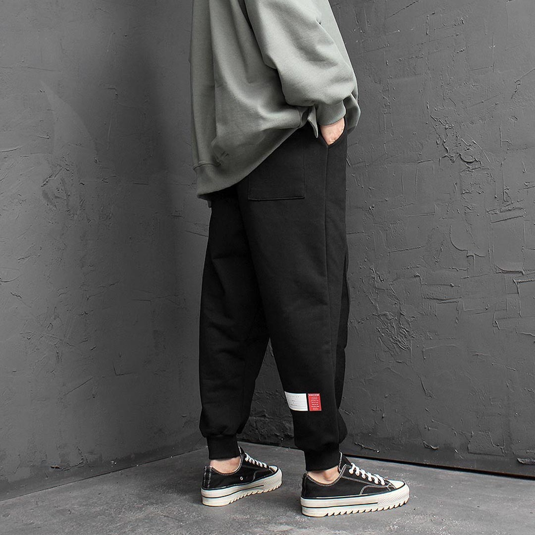 Loose Fit Wide Jogger Pants 1530