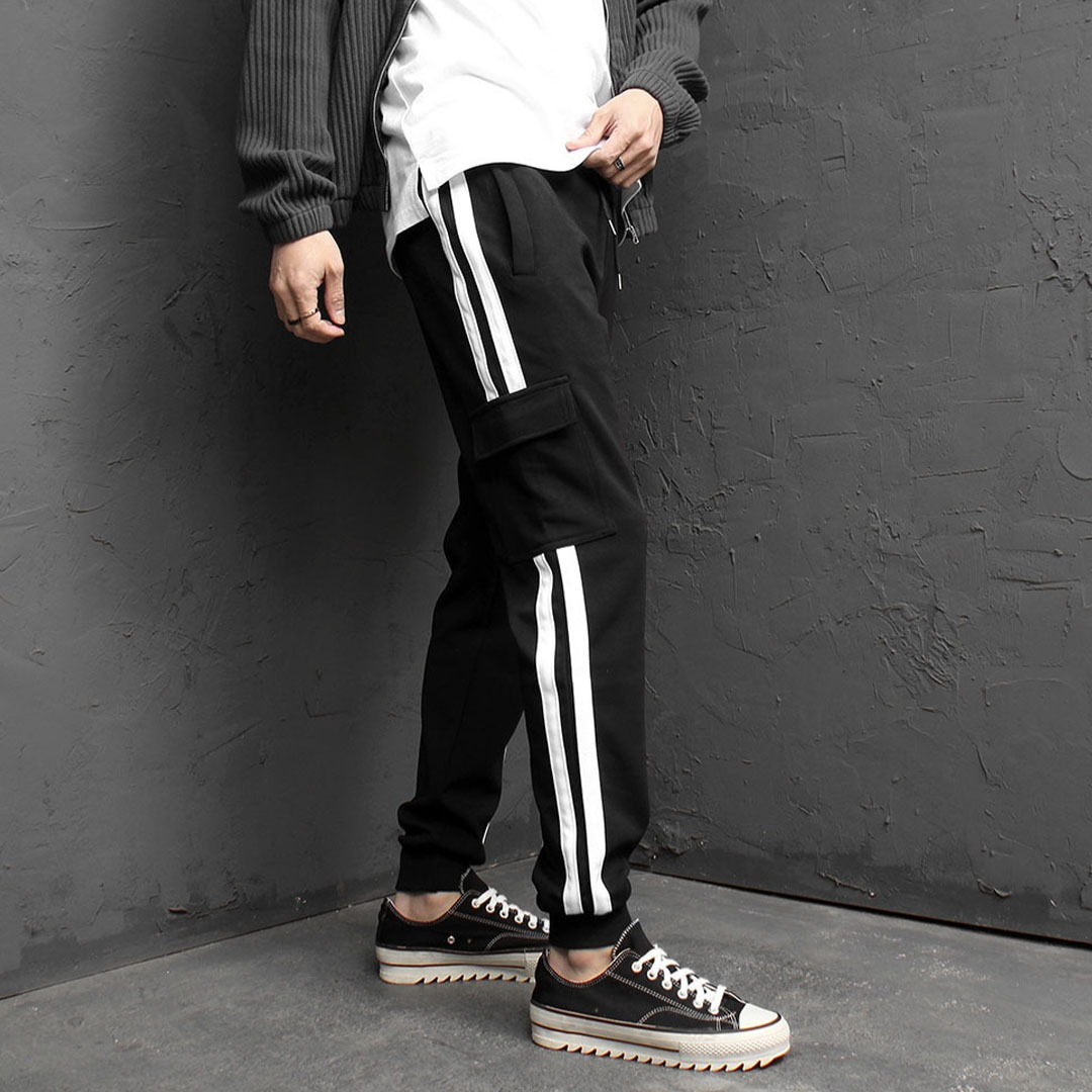 Side Line Cargo Pocket Joggers 1835