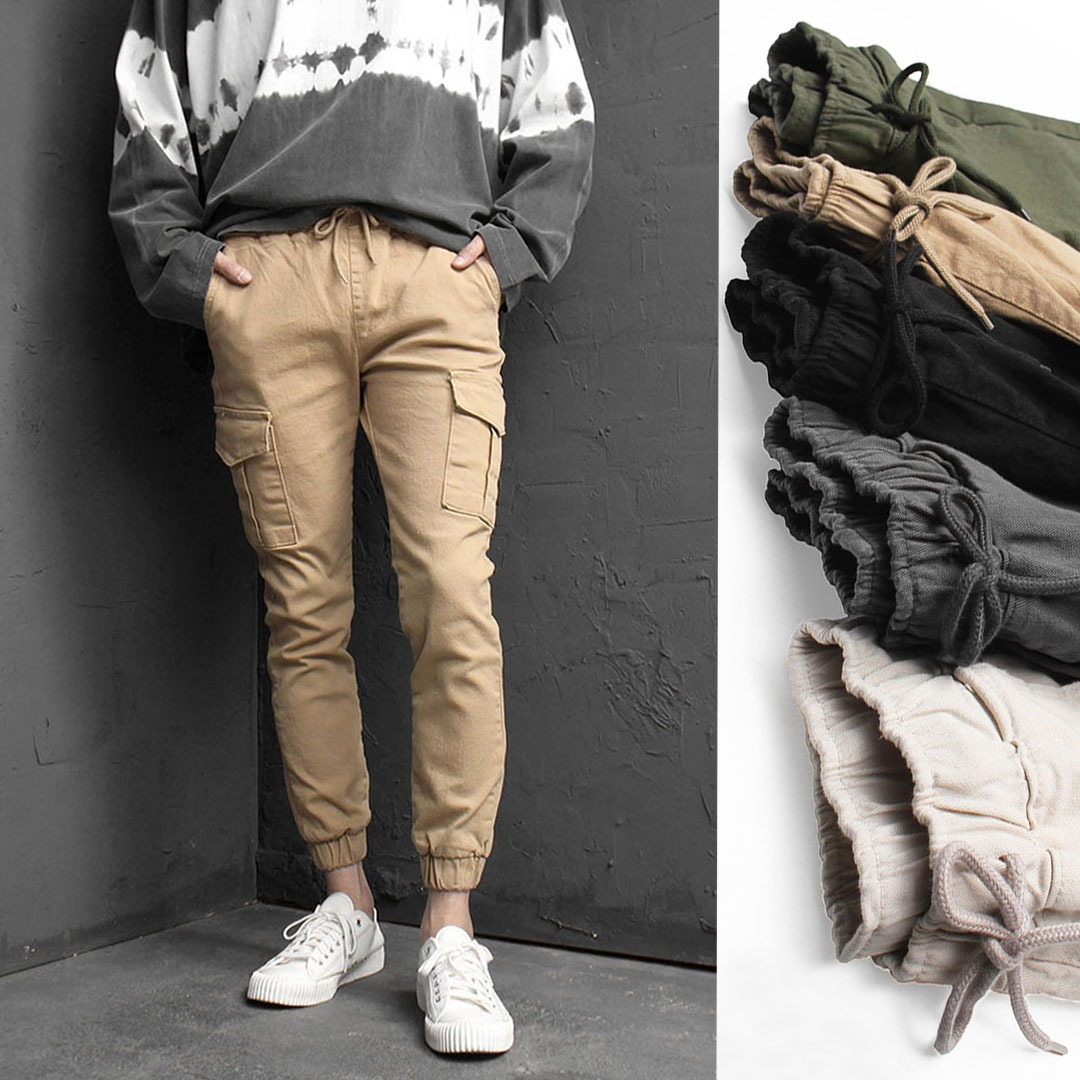 Slim Fit Stretchable Cargo Jogger Pants 1951