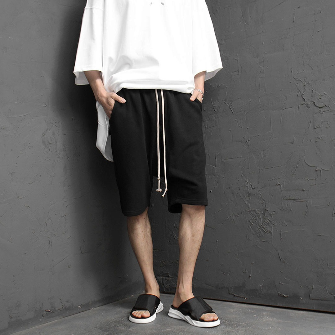 Drop Crotch Short Sweatpants 2145
