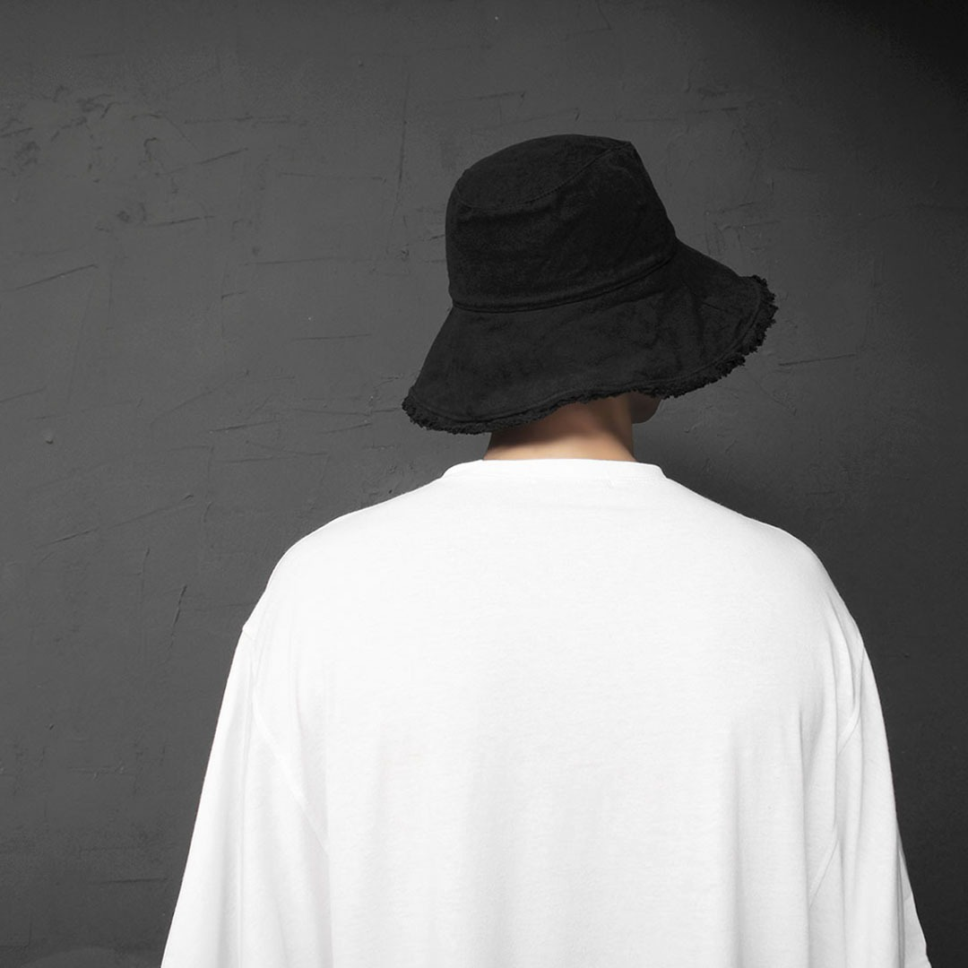 Wire Brim Vintage Bucket Hat 2077
