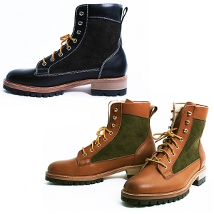 Handmade High Top Leather Boots 5276