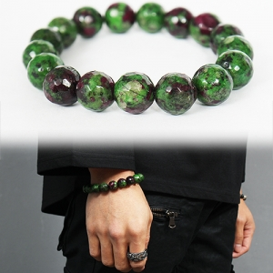 Emerald Green Natural Stone Beads Bracelet 183