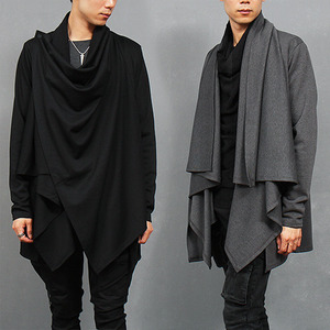 Avant garde Symetric Shawl Draped Cardigan