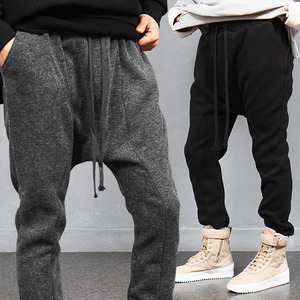 Slim Fit Knit Fleecy Baggy Sweatpants