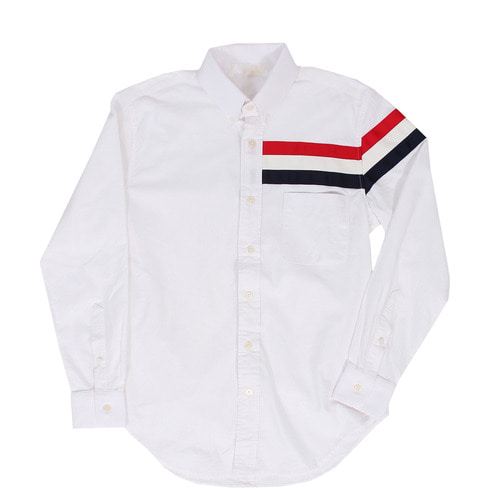 Color Armband Oxford White Shirt