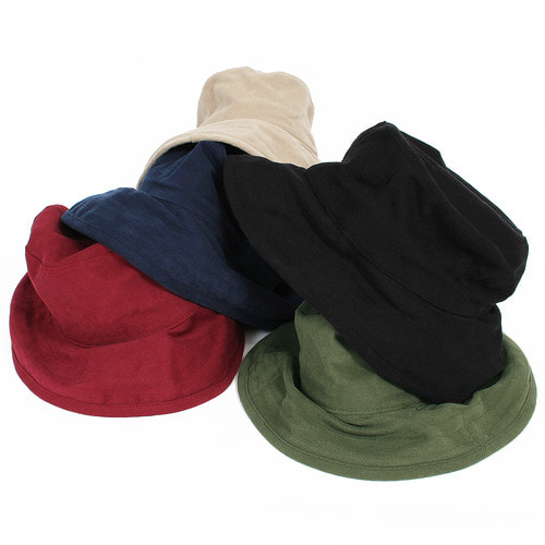 5 Color Cotton Bucket Hat